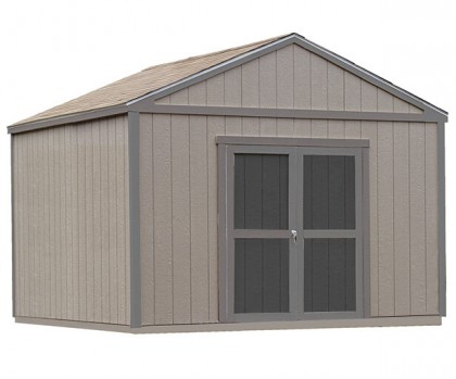 Shed features flex door location - place doors on eave or gable side.