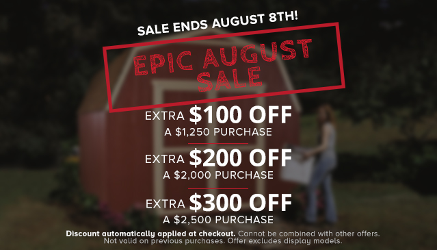 Save up to $300 off purchases of $2,500 or more. Offer ends August 8th.